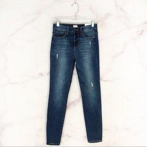 Sneak Peek High Rise Skinny Jeans